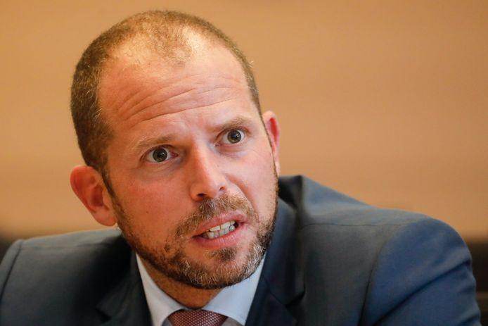 L'ancien secrétaire d'État à l'Asile et la Migration Theo Francken (N-VA).