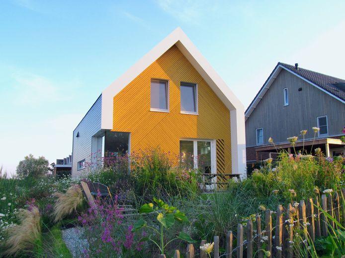 Rode Trap Huis in Ecowijk De Kiem in Schuytgraaf. Ontwerp: Jasper Jobse, opdrachtgever: particulier.