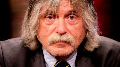 """Homoseksuele voetbalfans boos op Johan Derksen:  """"Ik zat met kippenvel op de bank naar hem te luisteren"""""""