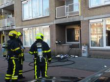 23 woningen ontruimd door brand in Bothastraat