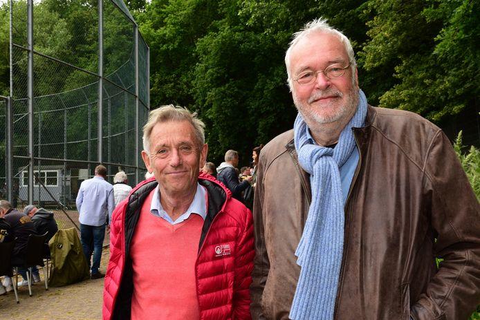 Storks-voorzitter Ronald van Wijk (rechts)