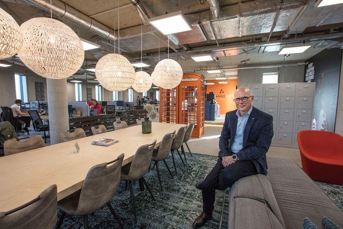Directeur Huub van der Linden van OrangeNxt in Eindhoven.