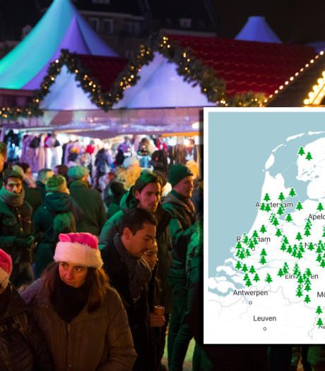 Zoek hier een gezellige kerstmarkt bij jou in de buurt