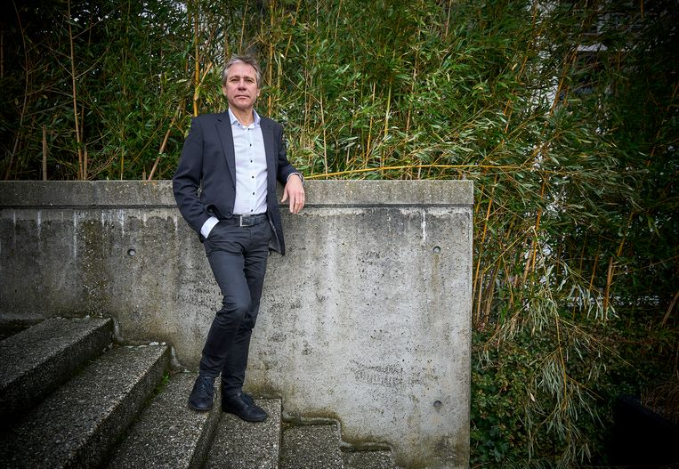 Rik Grashoff moet nog maar zien of VVD, CDA en Forum er samen uitkomen. Beeld Phil Nijhuis