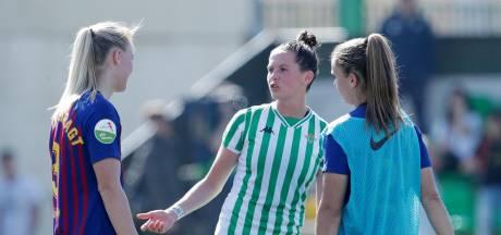 Staking helpt voetbalsters in Spanje aan cao