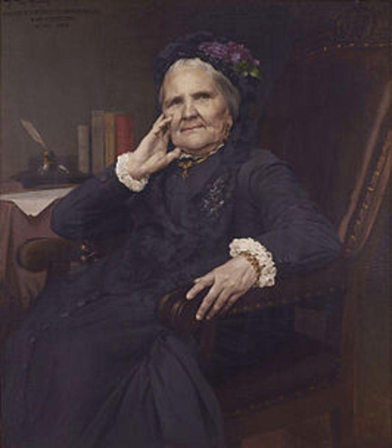 Vrouwe Courtmans was een schrijfster van poëzie, toneel, en sociaal bewogen novellen en romans, één van de belangrijkste vrouwelijke auteurs in Vlaanderen tijdens de negentiende eeuw.