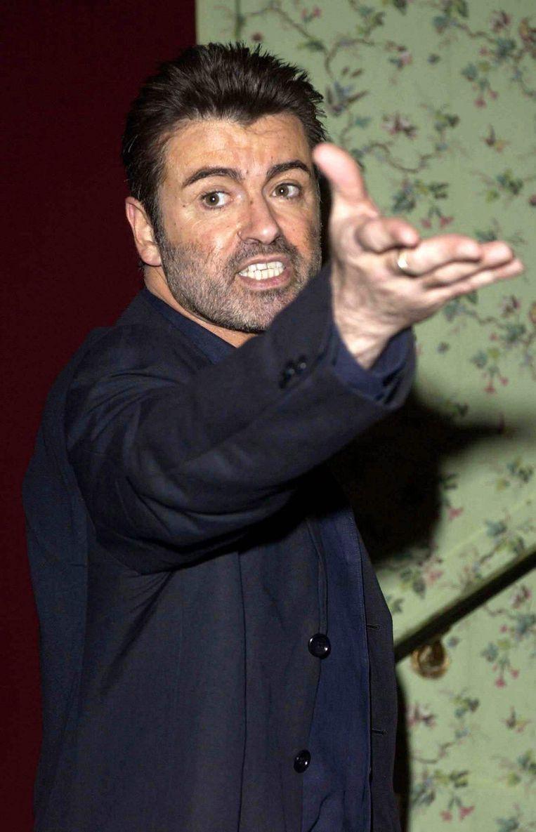 George Michael in 2004. Beeld epa