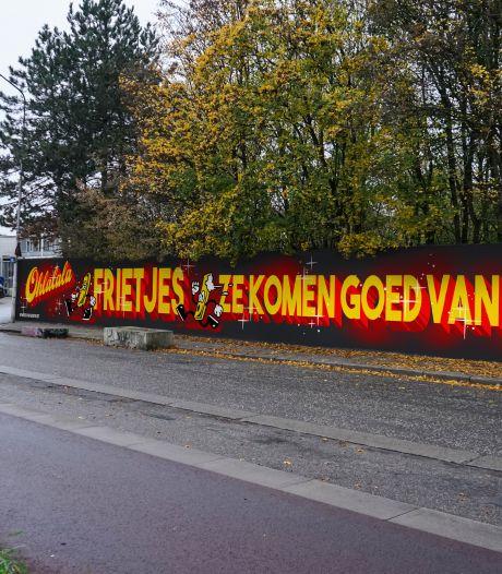 Streetart-artiesten brengen ode aan de Vlaamse friet