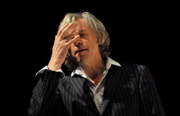 De Ierse rockzanger Bob Geldof heeft Ethiopië bezocht. ANP Beeld