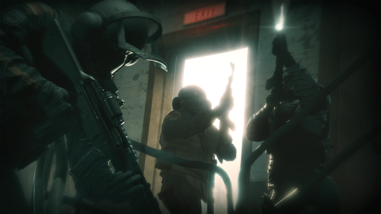 Een screenshot uit 'Rainbow Six: Siege'.