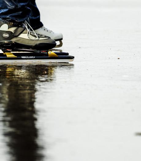 De schaatsen kunnen binnenkort weer uit het vet