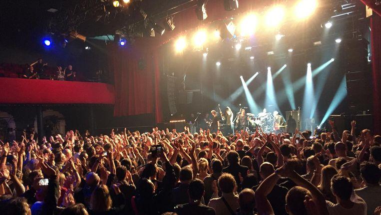 Het concert van Sting in de Bataclan. Beeld ap