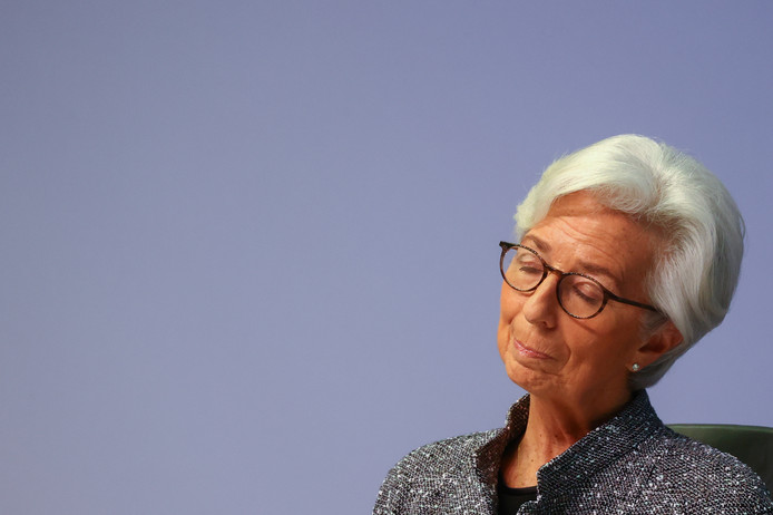 President van Europese Centrale Bank, Christine Lagarde.