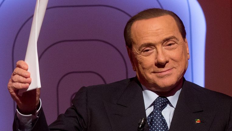 Voormalig Italiaans premier Silvio Berlusconi.