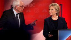 "Hillary Clinton: ""Niemand vindt Bernie Sanders leuk"""