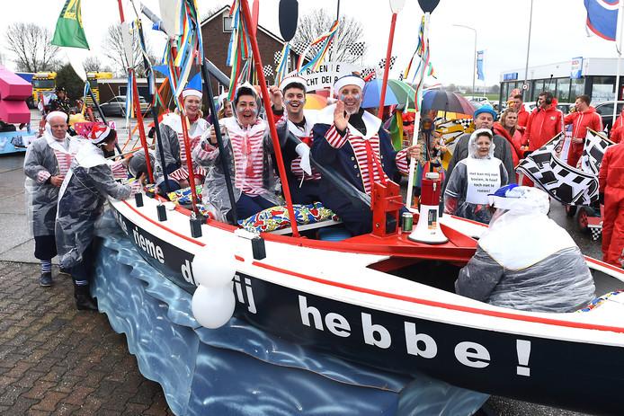Is het een kwestie van tijd? Dan is de overnachtingshaven in Gies een feit. En kunnen wij onze boot kwijt!