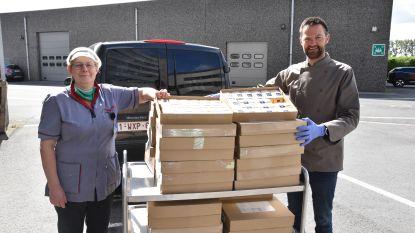 Solidariteitsactie Leonidas brengt 290 kg pralines op voor ziekenhuis en voedselbedeling