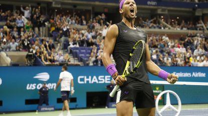 Onder meer dankzij dit fenomenale punt rekent Nadal vlot af met Cilic - Ook Monfils in ijltempo ronde verder