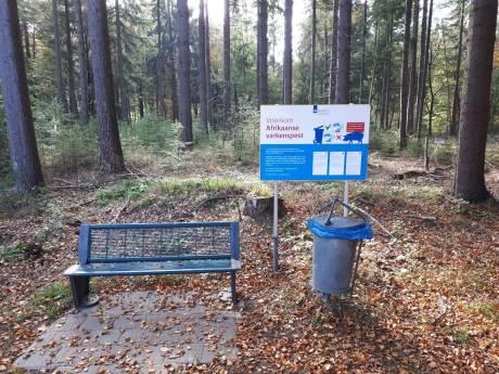Provincie wil Veluwse zwijnen beschermen met waarschuwingsborden