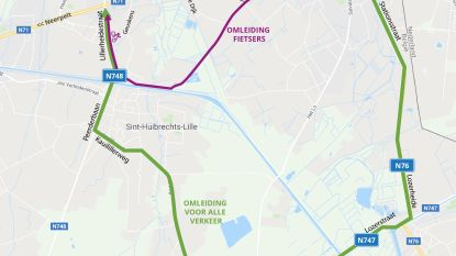Laatste asfalteringswerken en omleiding in Bosstraat