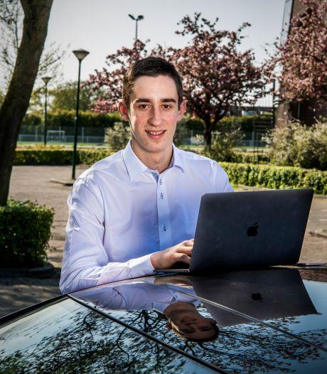 Patrick (17) heeft eigen IT-bedrijf: 'Ik heb moeite met mensen die mij commanderen'