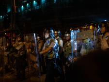 Opnieuw paniek in Hongkong: politiebureau belegerd na arrestatie