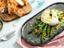 Wat Eten We Vandaag: Groene asperges met burrata
