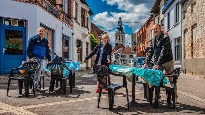 """Primeur in coronatijden: """"Terrassen in autovrije Kloosterstraat vanaf vrijdag 12 juni"""""""