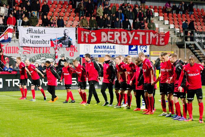 Helmond Sport won afgelopen vrijdag nog van FC Eindhoven.