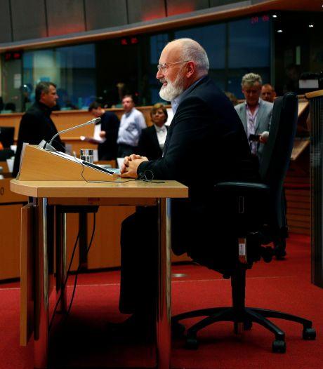 Europese klimaatchef Timmermans wil massale herbebossing