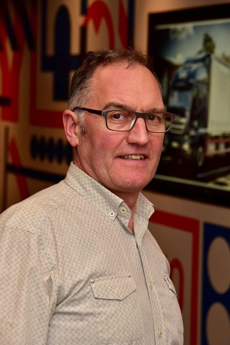 Francis Turpyn van transportbedrijf KTO.
