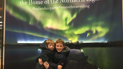 Samen breken ze de stilte: dove en horende kinderen ontmoeten de Kerstman in Lapland