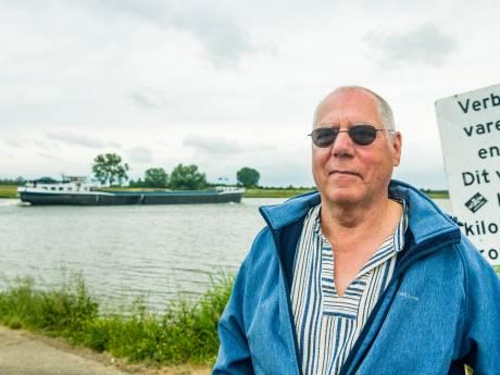 Waarom schipper Wim Seijers de as van zijn overleden zoon in het water van de Rijn strooit