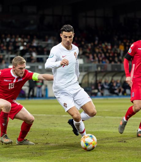 Portugal plaatst zich voor EK, maar Ronaldo moet nog even wachten op mijlpaal