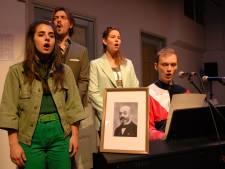 House of Nouws brengt Esperanto volledig tot leven tijdens begrafenisceremonie