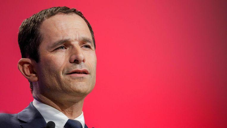 Benoît Hamon werd in de voorverkiezingen voor de Franse presidentsverkiezingen aangeduid als de kandidaat van de PS. Hij sneuvelde al in de eerste ronde, met een score van amper 6,4 procent.