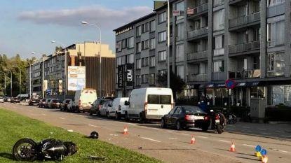 Motorrijder in levensgevaar na aanrijding in Deurne