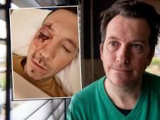 René wordt licht uit ogen geslagen als hij scooterrijder tot de orde roept: 'Zinloos geweld, en dat in Balkbrug'