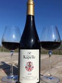 Rode wijn van Wijngoed Kapelle.