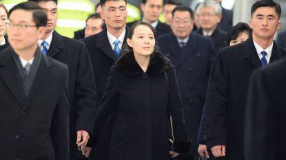 Zus van leider Kim Jong-un in Zuid-Korea voor Olympische Winterspelen