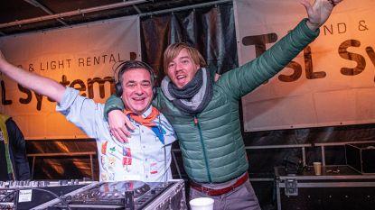 VIDEO Stevig, en verantwoord, feestje op Dag van de Jeugdbeweging met burgemeester als dj