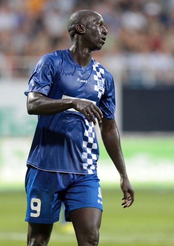 Leye in het shirt van AA Gent.