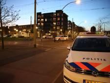 Politie houdt man met scherp voorwerp aan bij het Parijsplein
