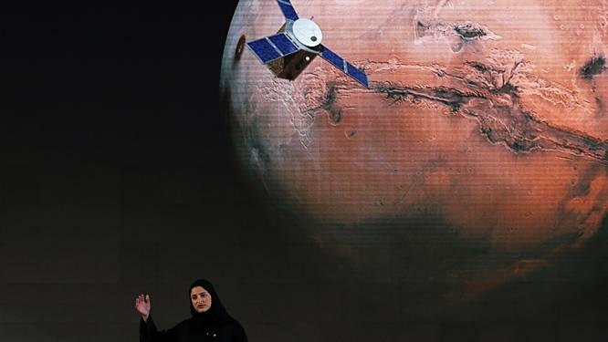 Kunstmaan van de Verenigde Arabische Emiraten arriveert in februari op Mars