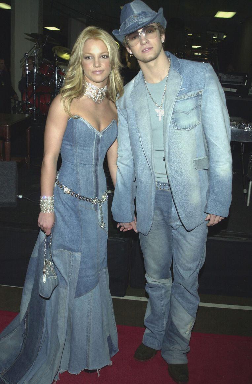 Britney en Justin laten zien hoe het níét moet. Beeld Getty Images