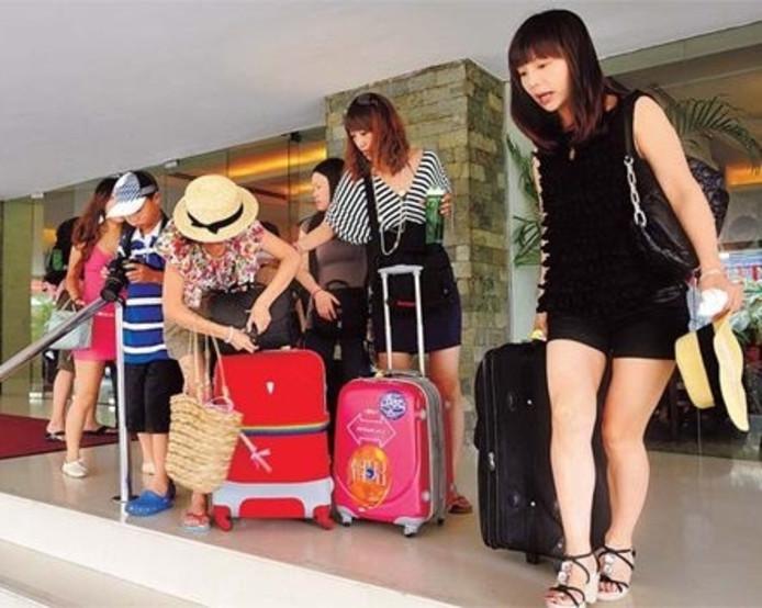 Chinese toeristen