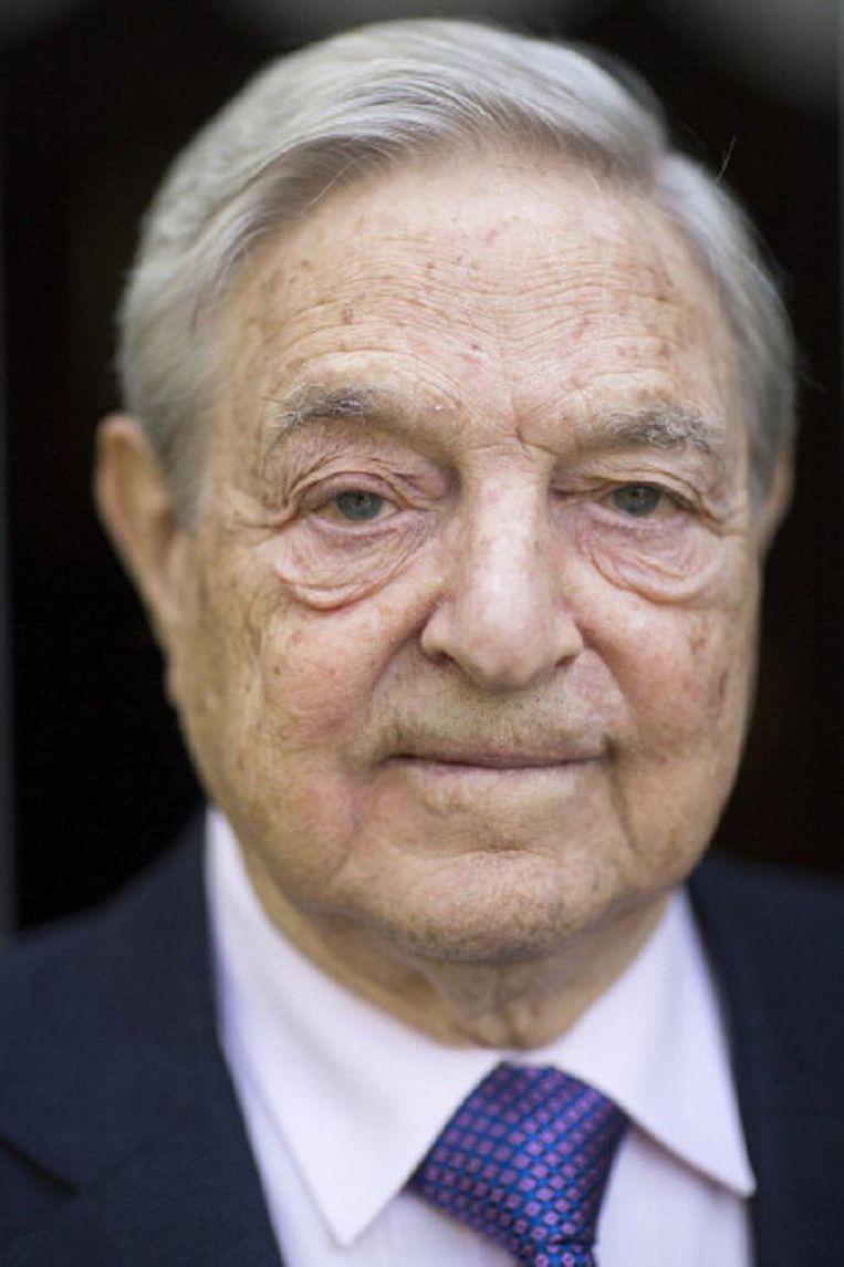 George Soros, in Boedapest geboren magnaat en filantroop. Rijk geworden met speculaties onder meer tegen het Britse pond. Beeld Bloomberg via Getty Images