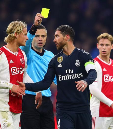 Sergio Ramos liegt om 'bewuste' gele kaart