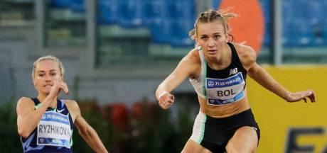 Bol en Visser vliegen als snelste over de horden in Stadio Olimpico in Rome