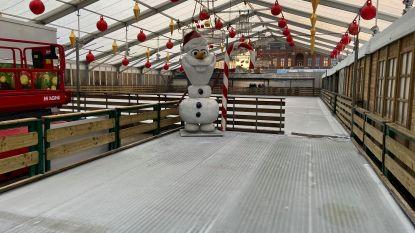 Knokke maakt zich op voor opening kerstmarkt, inclusief échte ijspiste